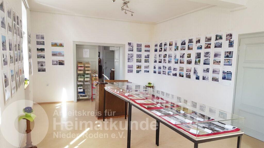Die Ausstellung steht, alles ist vorbereitet! - ©AKHNR/WST